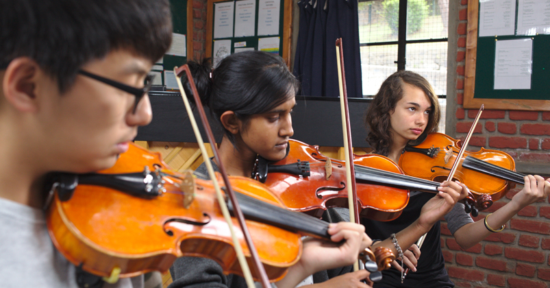 Western classical music at KIS